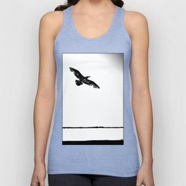 flying into the unknown Unisex Tank Top
