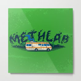 Methlab Metal Print