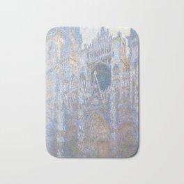 Rouen Cathedral, West Façade by Claude Monet Bath Mat