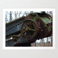 top gear Art Prints featuring gear by Dantastic Photos