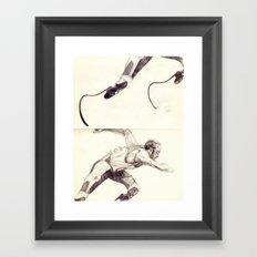 Oscar Pistorius Framed Art Print