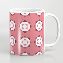 Maroccan Red Stars Coffee Mug