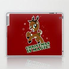 My Little Reindeer - Christmas is MAGIC! Laptop & iPad Skin