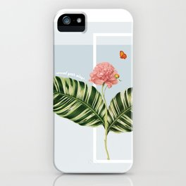"""""""...spread your wings."""" iPhone Case"""