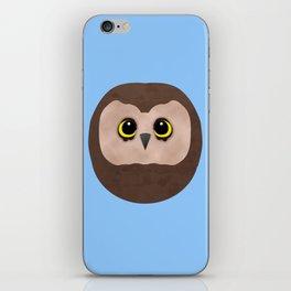 Chubby Little Owl iPhone Skin