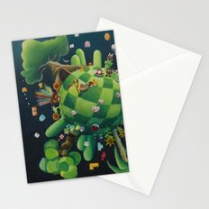 The consoling planet Stationery Cards