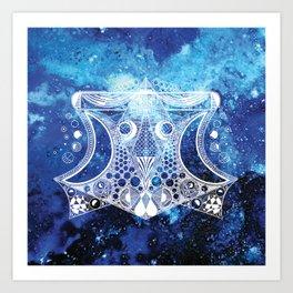 Back to the stars Art Print