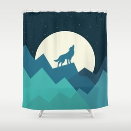 Keep The Wild In You Shower Curtain