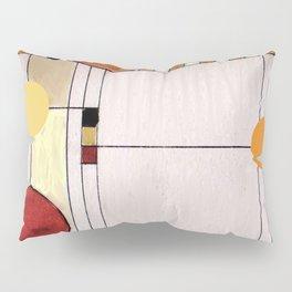 Astratto Rosso Pillow Sham
