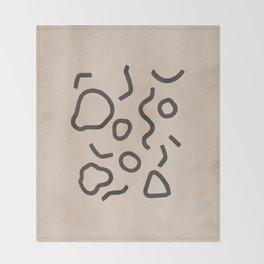 Simple Confetti Throw Blanket