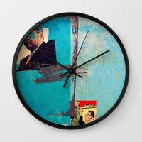 greek Wall Clocks featuring Greek by Alec Goss