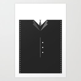 Suit Up Art Print