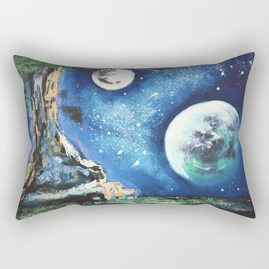 place for dreaming Rectangular Pillow