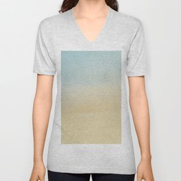 Abstract Beach Unisex V-Neck