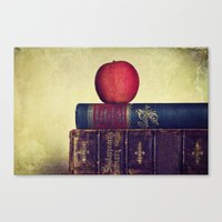 books Canvas Prints featuring Books by Lawson Images