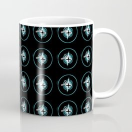 TIG Welding Pattern: Blue Coffee Mug