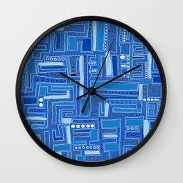 Bloo-bloo-bee-doo! Wall Clock