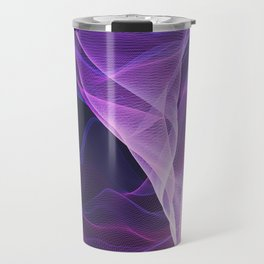 Out of the Blue - Pink, Blue and Ultra Violet Travel Mug