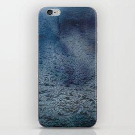 Tranquil & calm ocean waves dark blue iPhone Skin