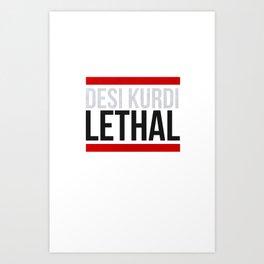 Lethal Art Print