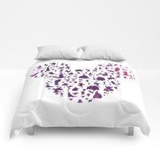 mickey ears silhouette  Comforters