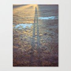 sundown shadow Canvas Print