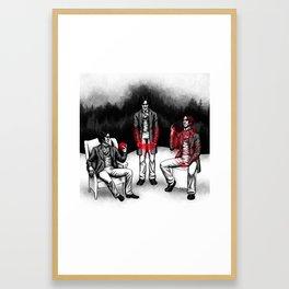 Caerdroia Framed Art Print