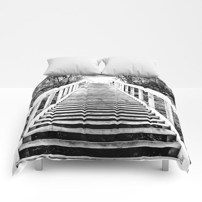 Only Way is Up #decor #society6 Comforters