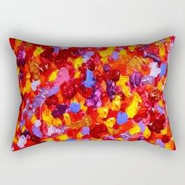 Abstract Red 002 Rectangular Pillow