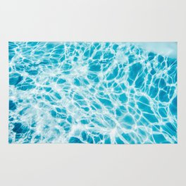 Underwater Photo Swimming Pool Rug