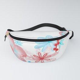 Flower Design Fanny Pack