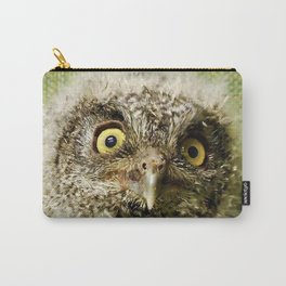 Western Screech Owl Baby Carry-All Pouch