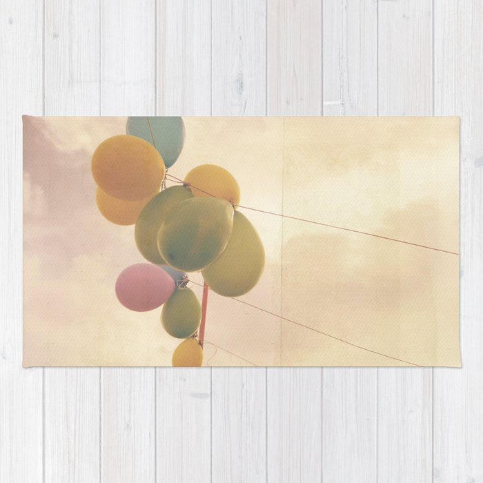 The Vintage Balloons Rug
