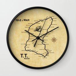 Isle Of Man TT Races Wall Clock
