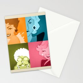 The Golden Girls Abstract Stationery Cards