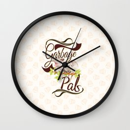 Garbage Pals Wall Clock