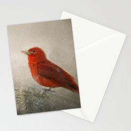 Song of the Summer Tanager 1 - Birds Stationery Cards