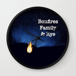For Dad Wall Clock