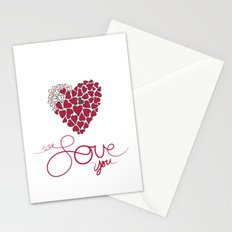 Love You . . . Stationery Cards