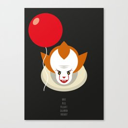 We all float down here.... Canvas Print