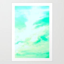 Green Haze Art Print