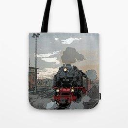 Steam locomotive | Dampflokomotive Tote Bag