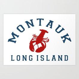 Montauk -Long Island. Art Print