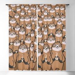 sloth-tastic! Blackout Curtain