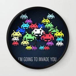 invader boss Wall Clock