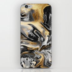 Gold Veins iPhone Skin