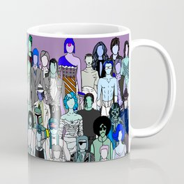 Tokyo Punks - Pop Zombies Coffee Mug