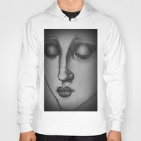 madonna Hoodies featuring The Madonna by Sarah Mary Street