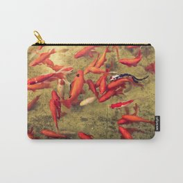 Fishy Frenzy Carry-All Pouch