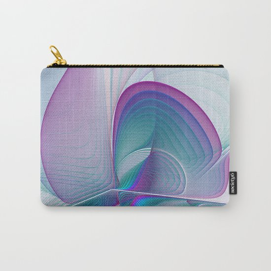Colorful Beauty, Abstract Fractal Art Carry-All Pouch